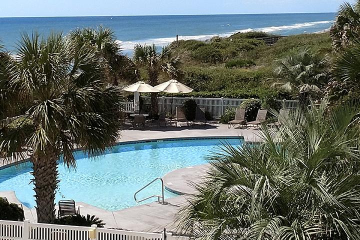 The Ocean Club ocean side pool